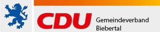 Logo von CDU Biebertal
